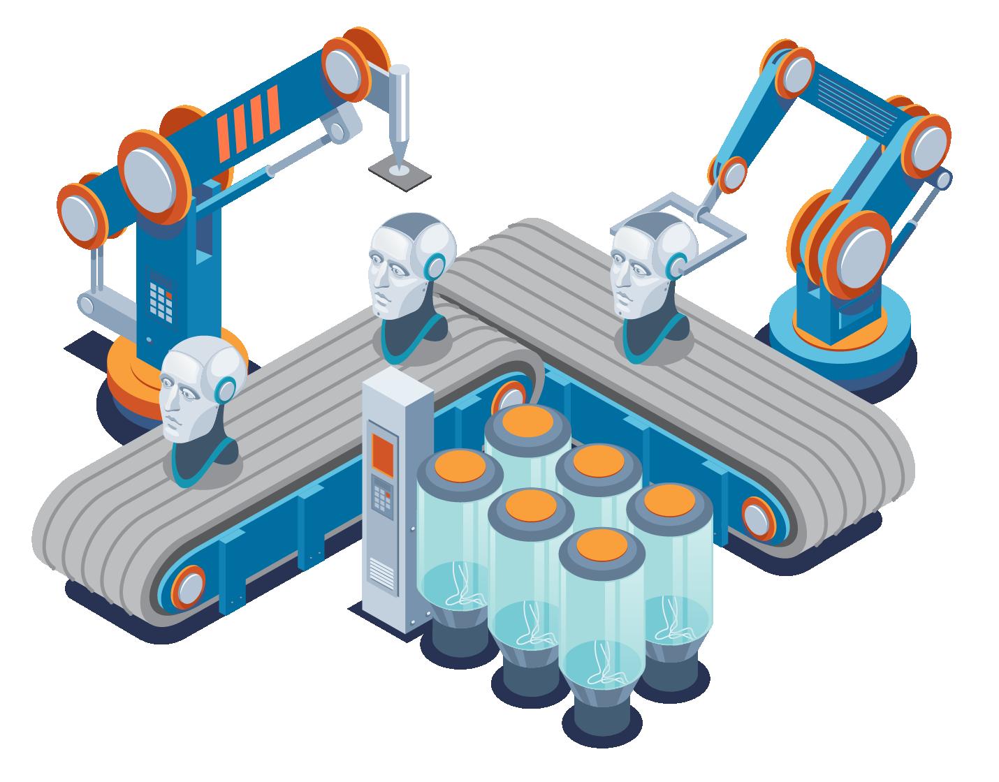 Conveyor belt simulation