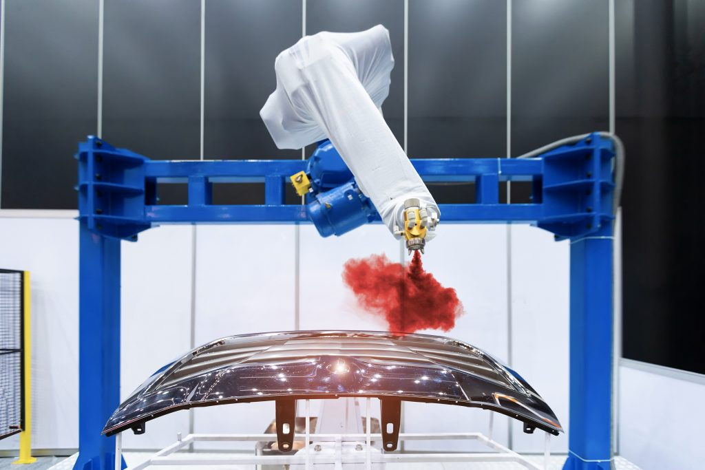 Industrial painting and coating technology