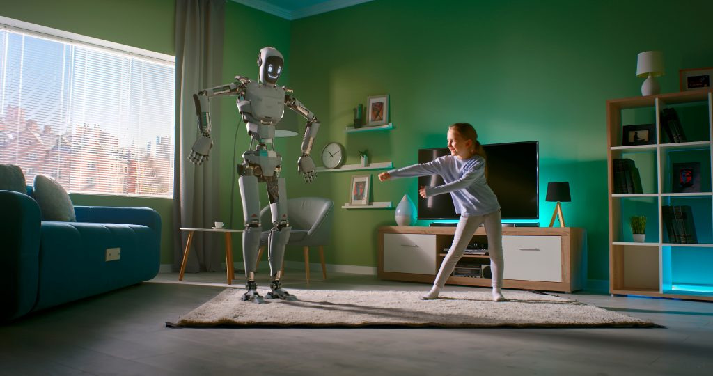 convergence of AR, VR in Robots